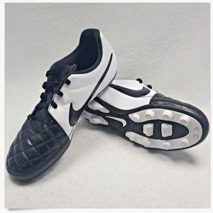 Nike JR Tiempo Rio II Leather FG Youth Soccer